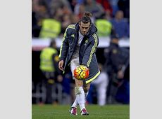 Bale went to pick up the match ball and take it MARCA