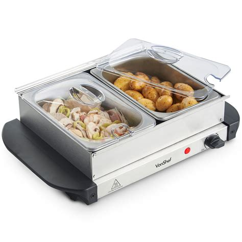 electric chafing dishes uk food warmer trays argos food