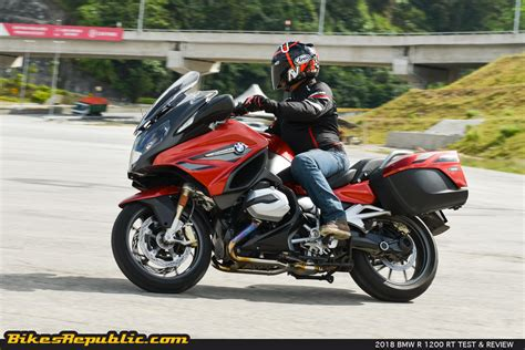 bmw rt 1200 2018 bmw r 1200 rt test review bikesrepublic