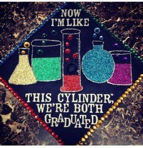 stem inspired graduation caps  absolutely nailed
