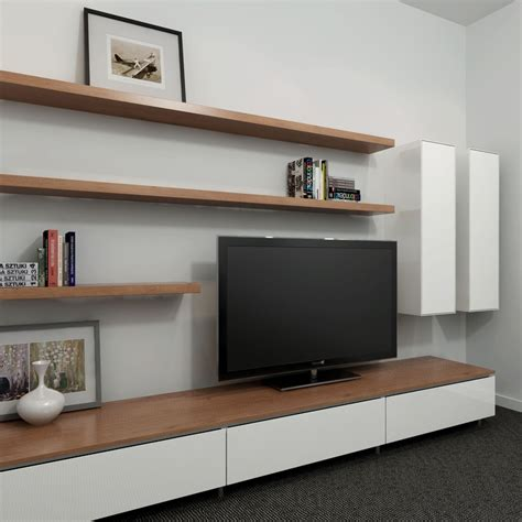 wall entertainment shelf 40 floating shelves for every room renoguide