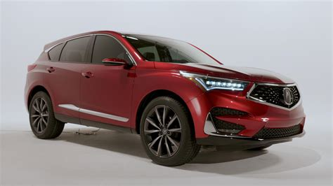 Acura Rdx Brings Bold Styling, Touchpad Tech To Detroit