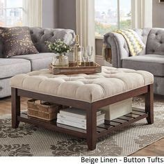 Cloth Ottoman Coffee Table by This Beautiful Creston Square Ottoman Features Comfortable