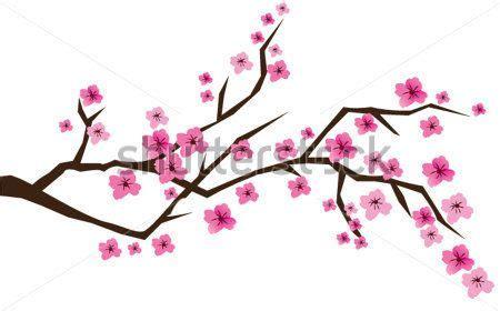 como pintar un cerezo japones en la pared Buscar con