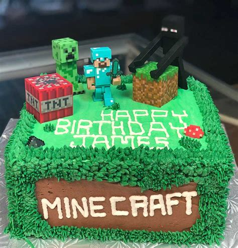 minecraft birthday cakes celebrity cafe  bakery