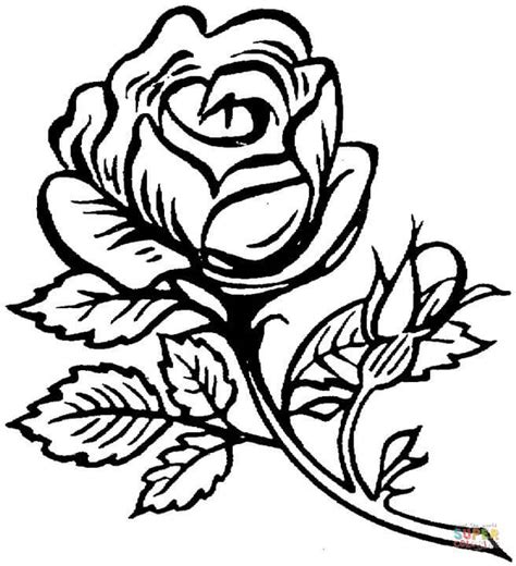 Coloring Roses by Hearts With Roses Pages 10290 Bestofcoloring