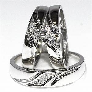 beautiful wedding ring sets for him and her white gold With beautiful wedding rings for her