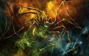 Dark, Horror, Scary, Creepy, Spooky, Spire, Web, Sci, Fi, Science, Fiction, Nebula, Stars