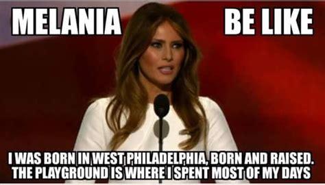 Meme Michelle Obama - memes about melania trump plagiarizing michelle obama hiphopdx