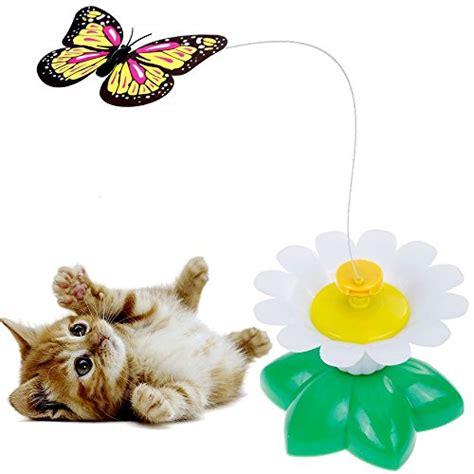 lictin drehendem schmetterling katzenspielzeug katze