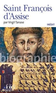 biography book in about francois d assisi