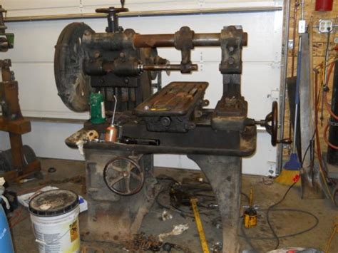fitchburg lathe  becker horizontal mill