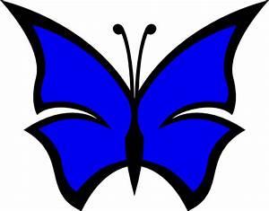 Butterfly 23 Color Colour Blue | Clipart Panda - Free ...