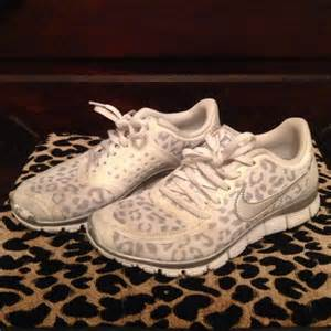 Leopard Print Nike Tennis Shoes