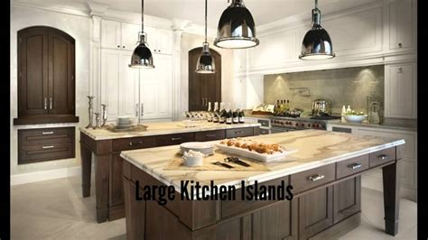 how big is a kitchen island large kitchen islands