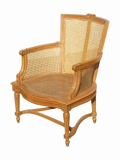Wood Chairs Chairish Armchair Wicker Arm Chair