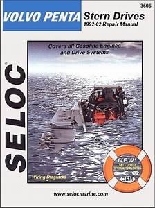 Volvo Penta Stern Drive Repair Manual 4  V6  V8 1992