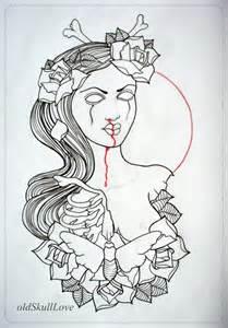 Skull Tattoo Outline Designs