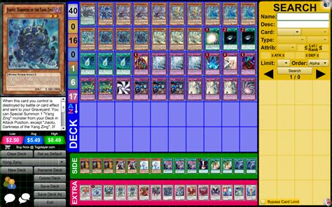 Skill Drain Deck 2015 by Yang Zing A Guide July 16th 2015 Deck Discussion