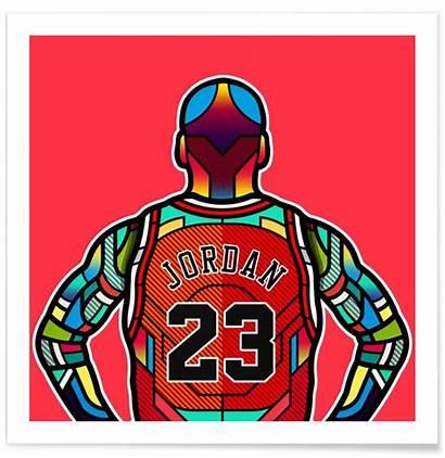 Jordan Poster Affiche Posters Orton Juniqe Cree