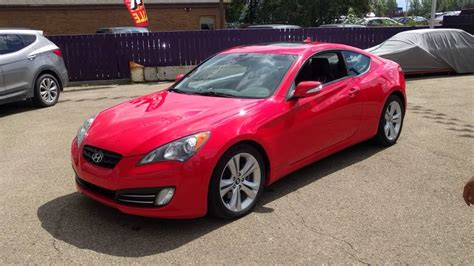 2011 Hyundai Genesis Coupe 3.8 Gt Automatic Red