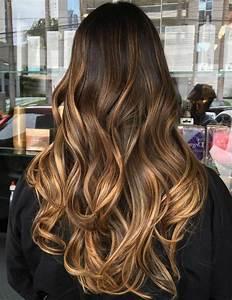 Faire Un Balayage : balayage blond miel sur cheveux chatain bruno pele energie renouvelable ~ Melissatoandfro.com Idées de Décoration