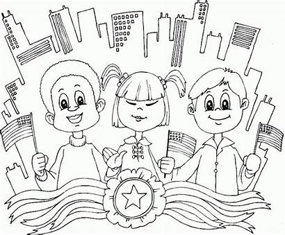 Coloring Diversity Pages Cultural Usa Diverse Printable