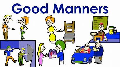 Polite Clipart Manners Language Expressions Communication Action