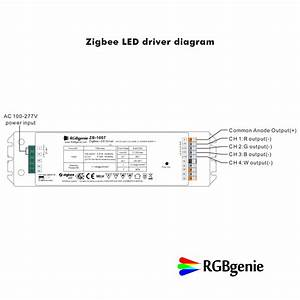 Rgbw Led Controller With Built In Power Supply   Zigbee