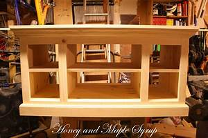 Tv Stand Plans : Shed Roof Building