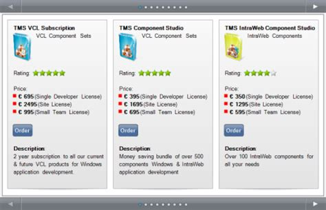 tms software tms vcl ui pack sles overview