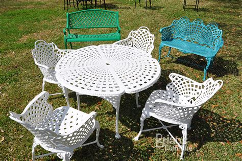 basketweave loveseat outdoor furniture cast aluminum