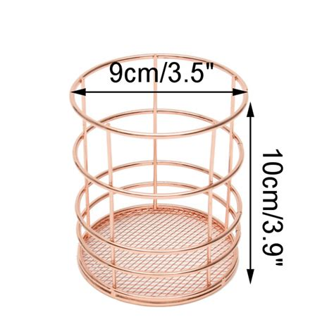 wire storage baskets for kitchen modern metal copper gold wire mesh storage basket 1922