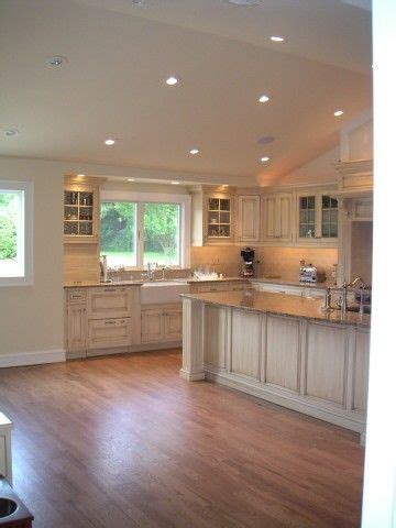 Recessed lighting vaulted ceiling picture   Kitchen
