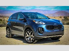 Kia's 2017 Sportage refuses to blend in with the compact