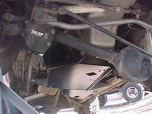 Skid Row Engine  Transmission Skid Plate For Jeep Cherokee