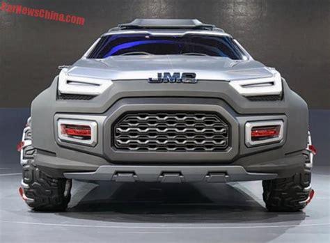 jmc yuhu concept unveiled at the 2015 shanghai motor show pickups trucks pickup trucks