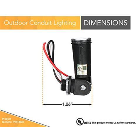 Woods Outdoor Conduit Lighting Control With