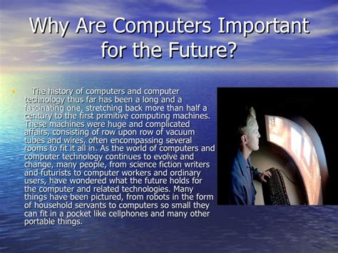 How Would Computers Help Us In The Future