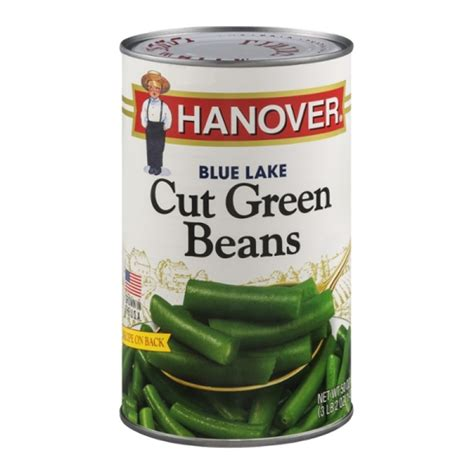 kitchen cut green beans hanover blue lake cut green beans 50 0 oz canned goods 4370