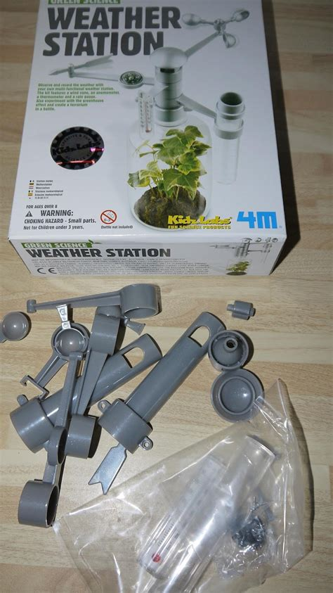 weather station science engineering national week allows wendy mini build own kit