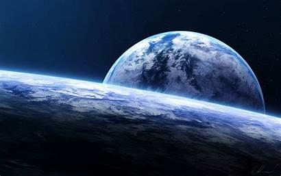 Horizon Earth Wallpapers Spacescape Wide