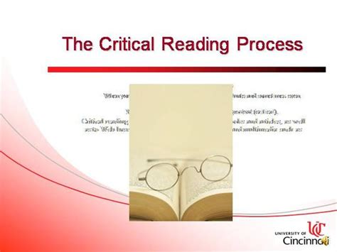 Steps In Critical Reading Authorstream