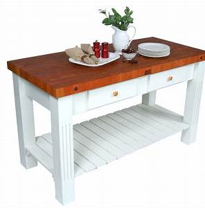 7 Prep Tables With Wood Top For Your Kitchen - Cute Furniture