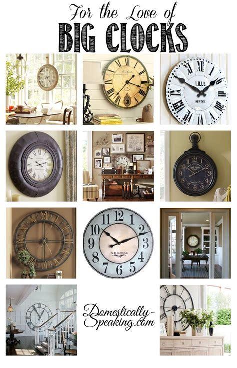 ideas  big clocks  pinterest stair wall