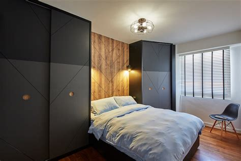 Hdb Master Bedroom Design Singapore by 8 Wardrobe Ideas For Small Hdb Bedrooms Home Decor