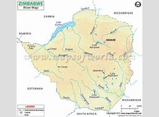 Zimbabwe River Map