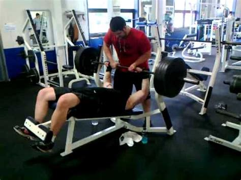 How Many Reps For Bench Press by 405 Lbs Decline Bench Press New 1 Rep Max