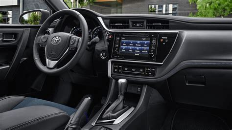 Toyota Corolla 2018 Interior Inside Cabin View Hd Images