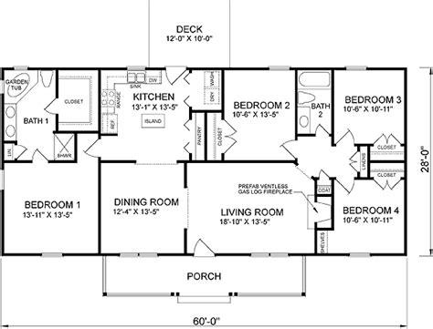 southern style house plan  beds  baths  sqft plan